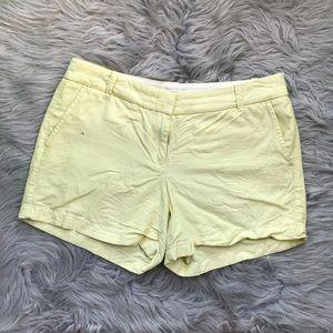 J. Crew Sunflower Shorts